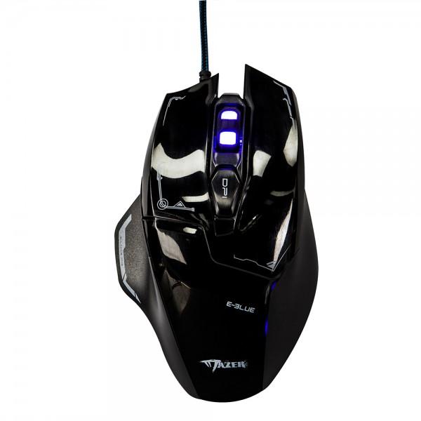 เมาส์ E-Blue Mazer M642 Advance Gaming Mouse (Black)