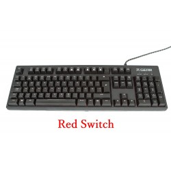 คีย์บอร์ด Fnatic RUSH Gaming Mechanical Keyboard (Red SW)