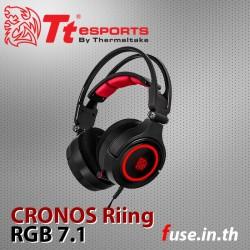 หูฟัง Tt eSPORTS CRONOS Riing RGB 7.1
