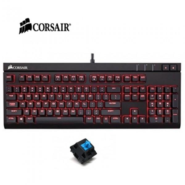 คีย์บอร์ด Corsair STRAFE Mechanical Gaming Keyboard (Blue SW)