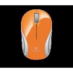เมาส์ Logitech Wireless Mini Mouse M187 (สีส้ม)