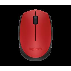 เมาส์ Logitech M171 Wireless Mouse (Red)