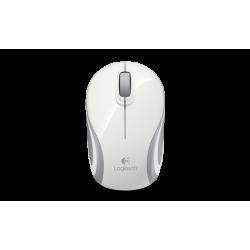 เมาส์ Logitech Wireless Mini Mouse M187 (สีขาว)